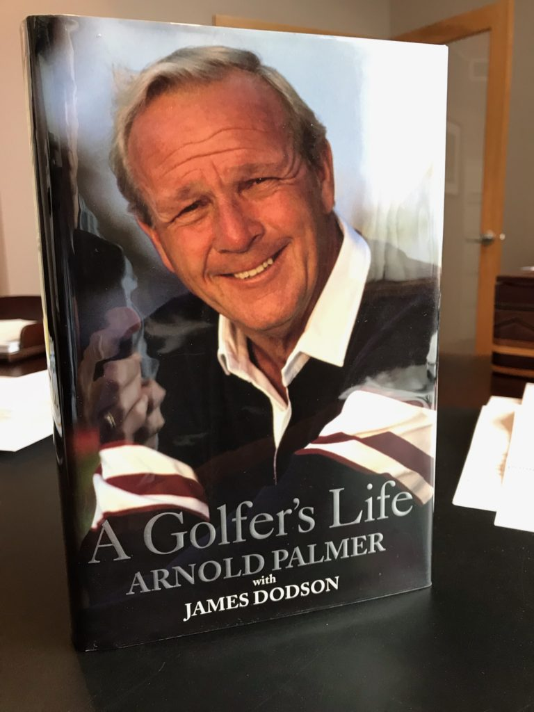 Signed First Edition Book by Arnold Palmer