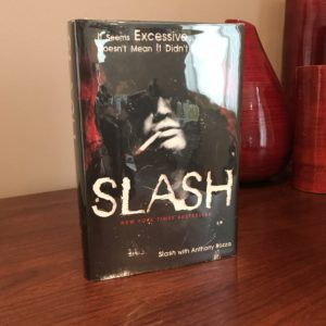 Signed Book by Slash from Guns N' Roses